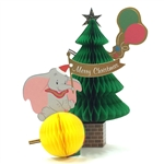 Disney Dumbo Honeycomb Pop Up Christmas Greeting Card