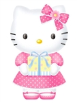 Hello Kitty Birthday Gift Pop Up Greeting Card