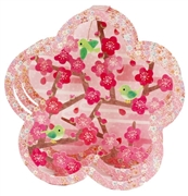 Plum (Ume) Blossom Floral Pop Up Greeting Card