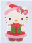 Hello Kitty Christmas Gift Pop Up Christmas Greeting Card