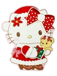 Hello Kitty Christmas Gift Pop Up Greeting Card