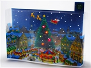 Christmas Festival Lights & 16 Melodies Pop Up Greeting Card