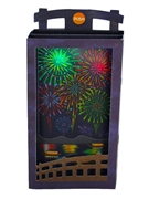 Fireworks Lights and Sounds Pop Up Greeting Card