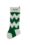 Chevron Stocking