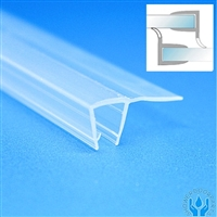 Shower Seal Pair -90 degree flexi fin-pair