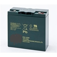 12v-22Ah Battery - Spitzer Golf Trolleys