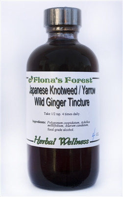 Japanese Knotweed/Yarrow/Wild Ginger Tincture