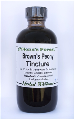 Brown's Peony Tincture