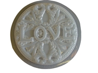 Love concrete or plaster mold 1005