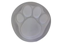 Paw print concrete or plaster  mold 1018