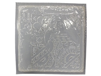 Queen card concrete or plaster mold 1022