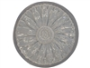 Daisy concrete or plaster mold 1036