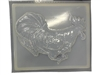 Rooster concrete stepping stone mold 1049