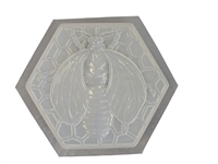 Bumble bee concrete plaster mold 1060