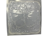 Stone butterfly concrete or plaster mold 1068