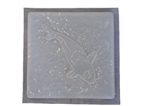 Koi concrete or plaster mold 1120