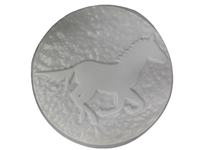Horse concrete or plaster mold 1122