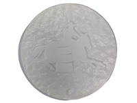 Barrel racer concrete or plaster mold 1127