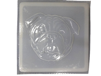 Bulldog Dog Mold 1168