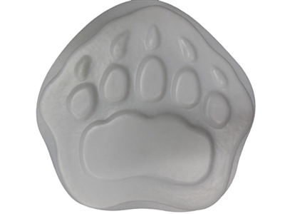 Bear paw concrete stepping stone mold 1184