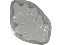 Oak leaf concrete stepping stone mold 1195