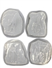 Egyptian Mold set of 4 1240
