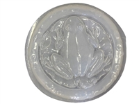 Frog on lily Pad mold 1263