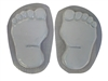Footprints bare feet concrete or plaster mold 1280