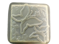 Butterfly concrete stepping stone mold 1307