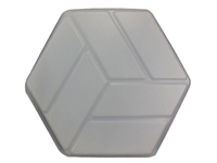 Textured Hexagon Mold 2004