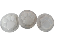 Dog Cat Paw Print Soap Mold Set 4502