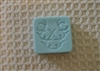 Floral Design Soap Mold 4525