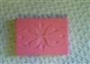 Floral Pattern Bar Soap Mold 4573