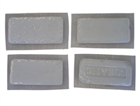 Brick Facing plaster or concrete Mold Set 6001