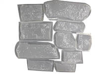 Ledge Stone Concrete Mold Set 6034a