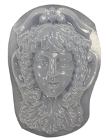 Green Lady Plaster or Concrete Mold 7028