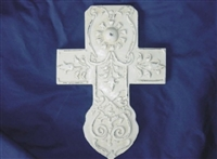 Cross Plaster or Cement Mold 7037