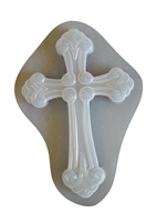 Cross Plaster or Concrete Mold 7039