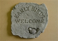 Welcome Birds concrete mold 7074
