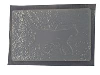 Cat Walking Mold 7115