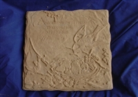 Bird stepping stone concrete Mold 7163