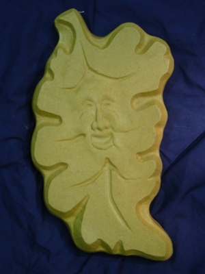 Oak Leaf face plaster or concrete Mold 7199