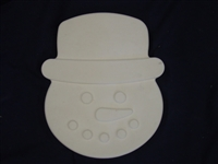 Snowman Plaster or Concrete Mold 7236