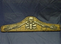 SKELETON PLAQUE MOLD 8002