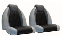 TZX Bass Boat Bucket Seats - Sold in Pairs Only