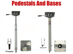 Bass Boat Pedestal Post and Base