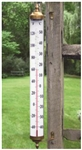 Our 2 Foot Tall Thermometer has huge numbers that make it easy to read from a distance. Indoor or outdoor