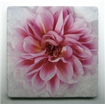 Dahlia in Bloom Tile is a perfect gift for a gardener!