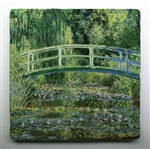 Monet Japanese Garden Tile is a perfect gift for a gardener!