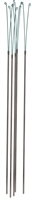 Our 3 foot y-stakes are excellent garden supports for tall growing flowers and plants.